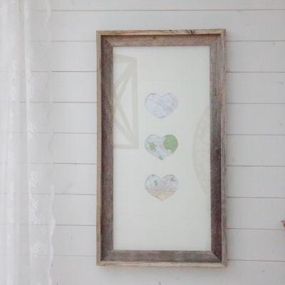 Heartfelt + Handmade: DIY Map Heart Art
