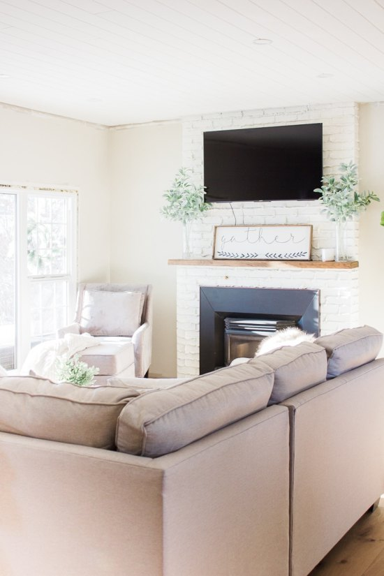 Modern Farmhouse Living Room