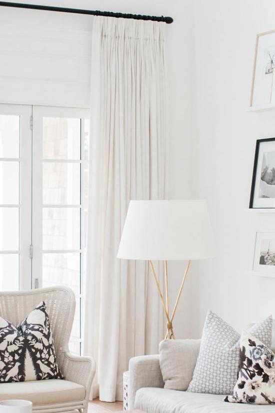 Custom Linen Curtains