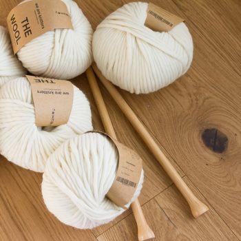 Chunky Blanket Knitting Kit