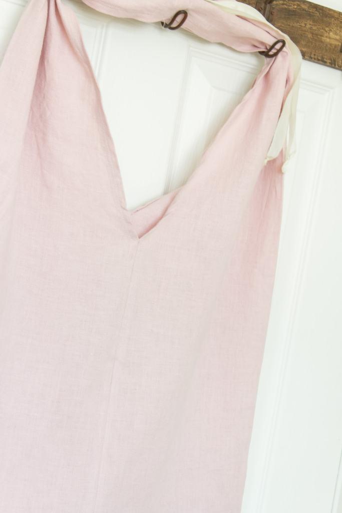 linen bag hanging