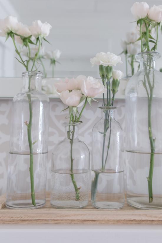 flowers bottle vase