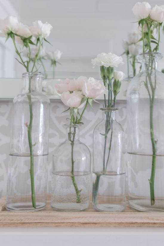 flowers bottle vase