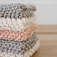 How to Knit a Farmhouse Kitchen Dishcloth