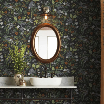 36 Vintage Inspired Wallpapers with Just the Right Amount of Modern