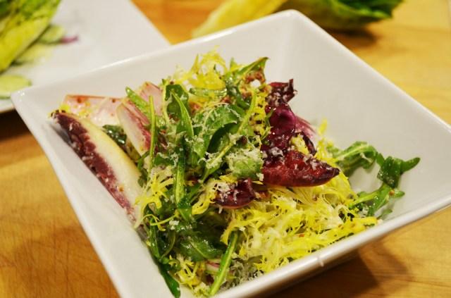 Tricolore Salad with Mustard Vinaigrette