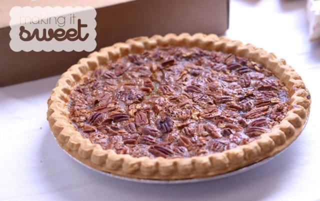 Making it Sweet - Pecan Pie benefitting Mama's Kitchen