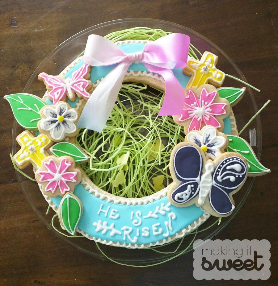 makingitsweet_easter_cookie_wreath