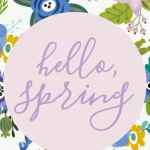Reflecting on Lent and the challenges of motherhood. Free Spring Printables.