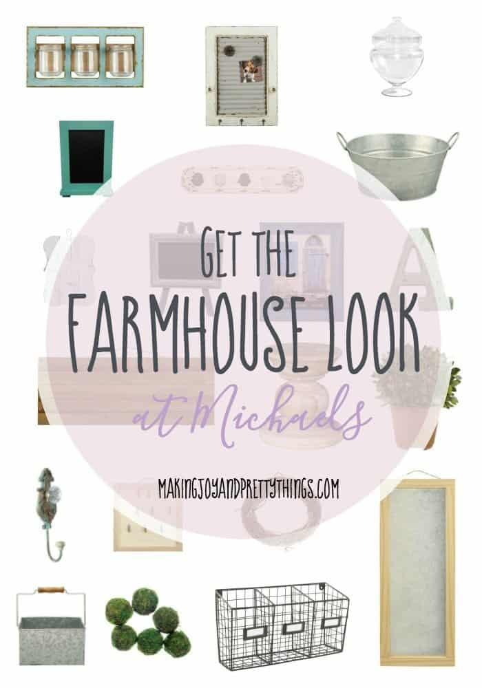 Get The Farmhouse Look At Michaels Making Joy And Pretty