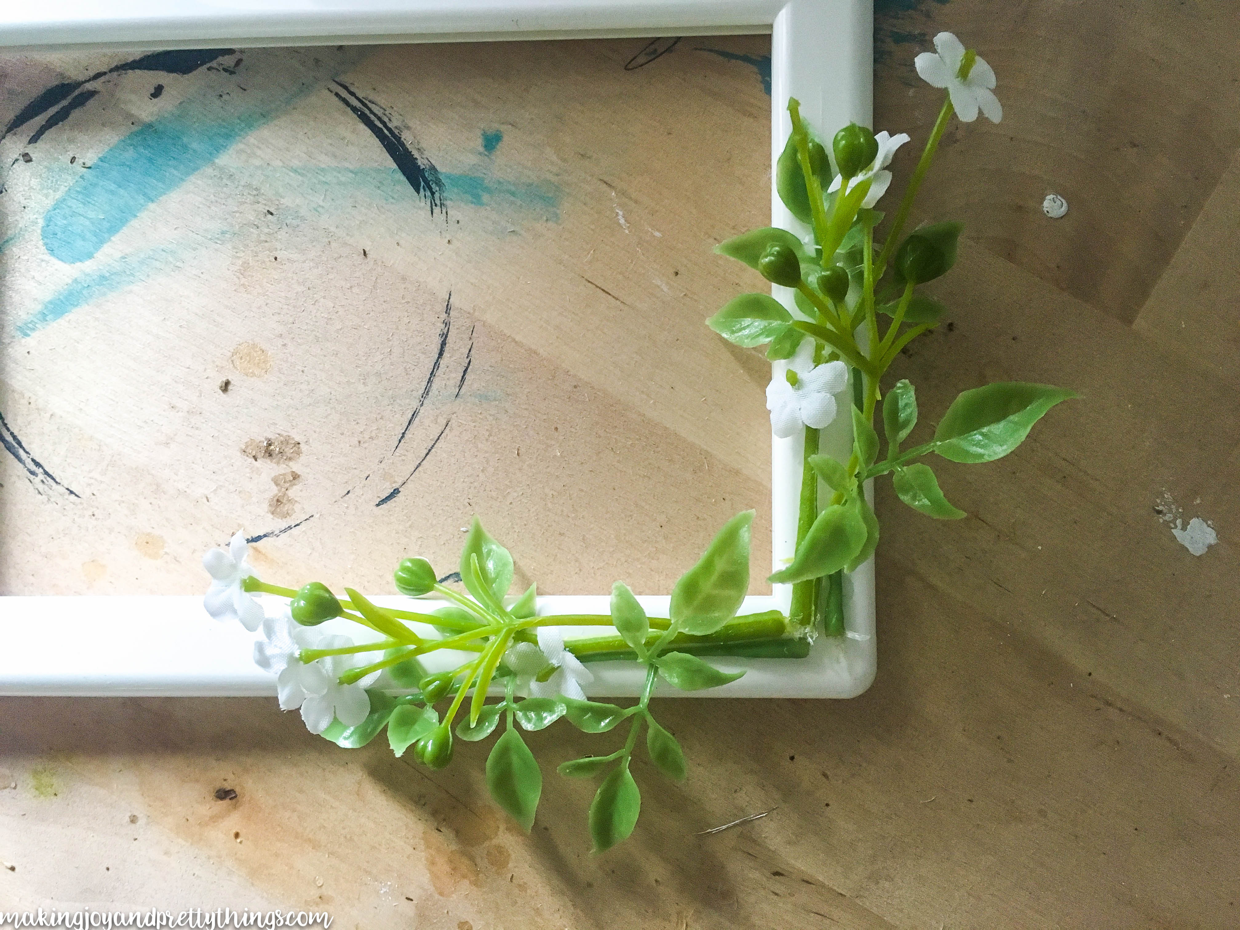 Update an IKEA Tolsby frame into a simple DIY farmhouse frame. Perfect DIY craft to add some farmhouse and fixer upper style to your home!