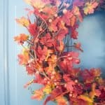 DIY Traditional Fall Wreath