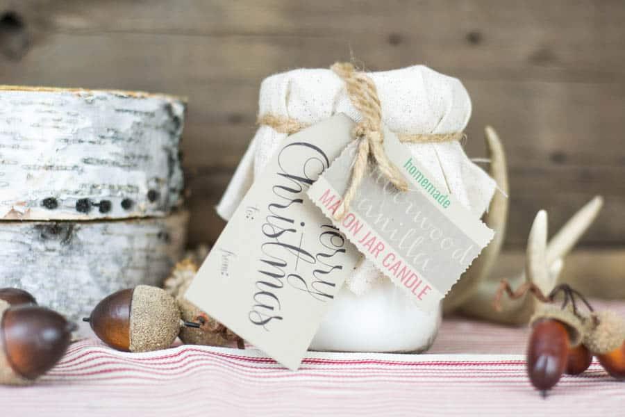 4th Day of Craftmas – Mason Jar Candle