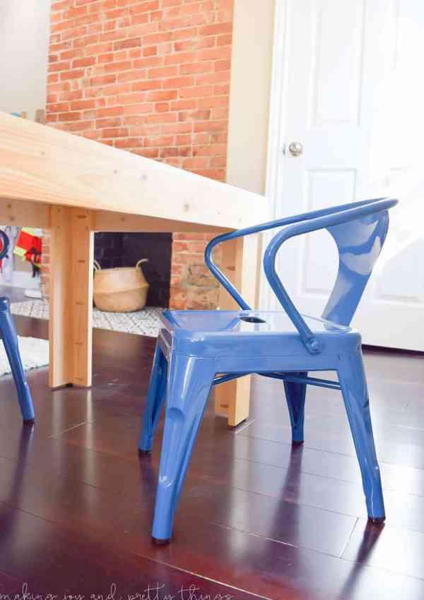 DIY Kid's Craft Table