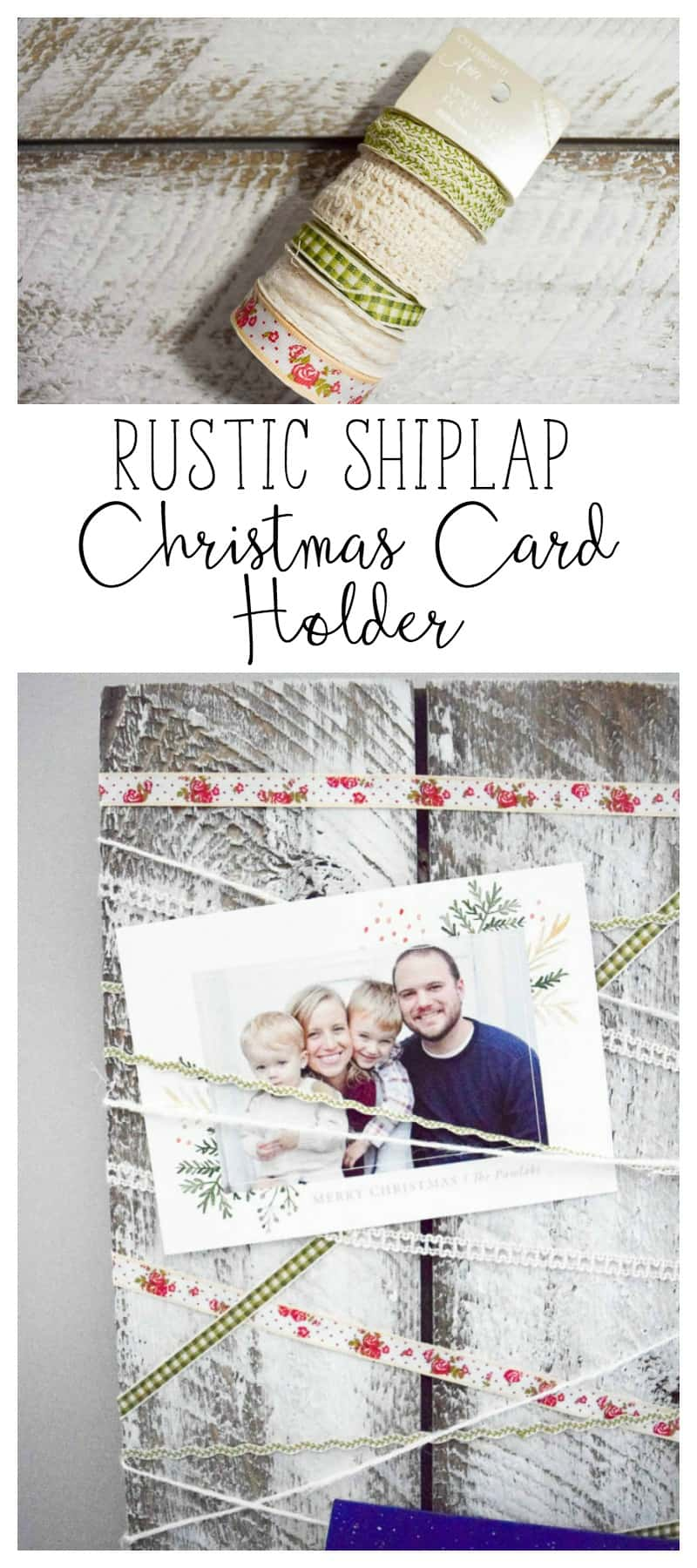 farmhouse style | farmhouse deocr | farmhouse christmas | rustic christmas card holder | farmhouse
