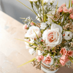 Farmhouse Spring Mason Jar Planter