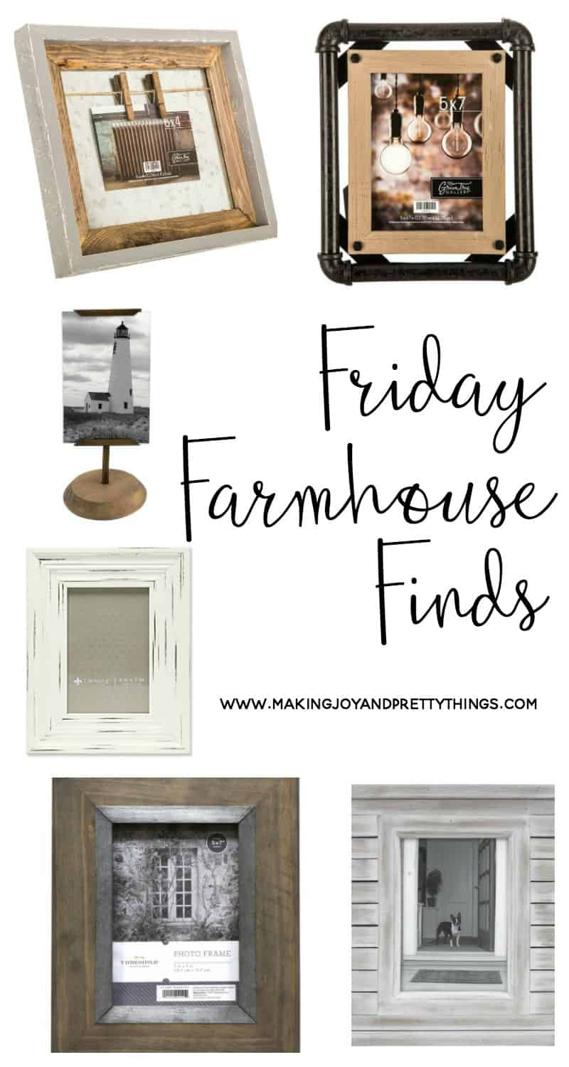 farmhouse Friday finds | farmhouse style | picture frames | rustic picture frames | farmhouse style frames