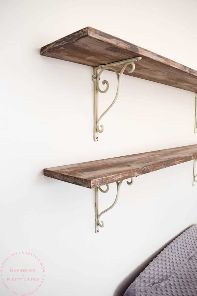 How to Make Farmhouse Style Shelves -