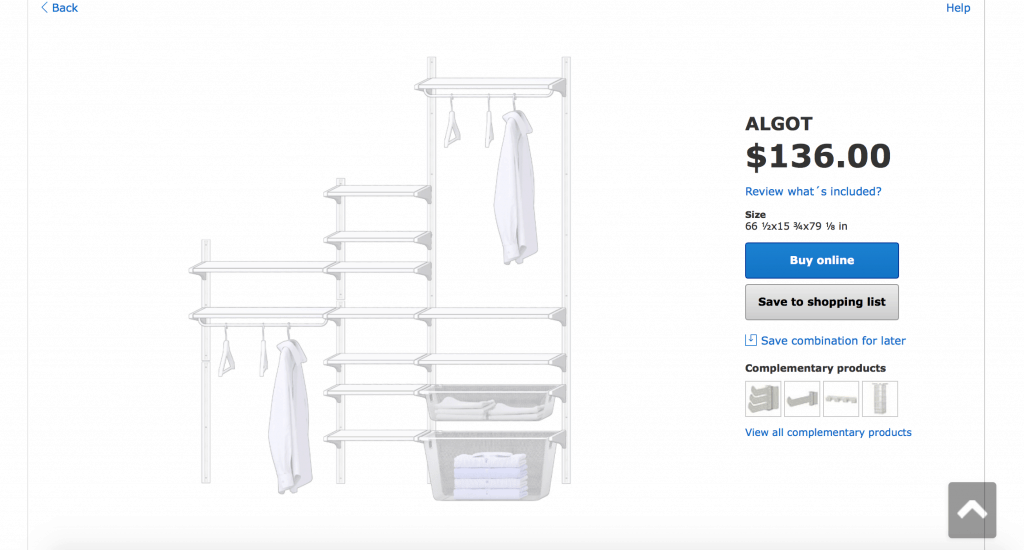 How to design your own IKEA Algot closet system