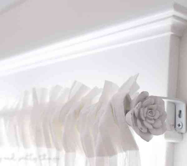 How to Update an Old Curtain Rod