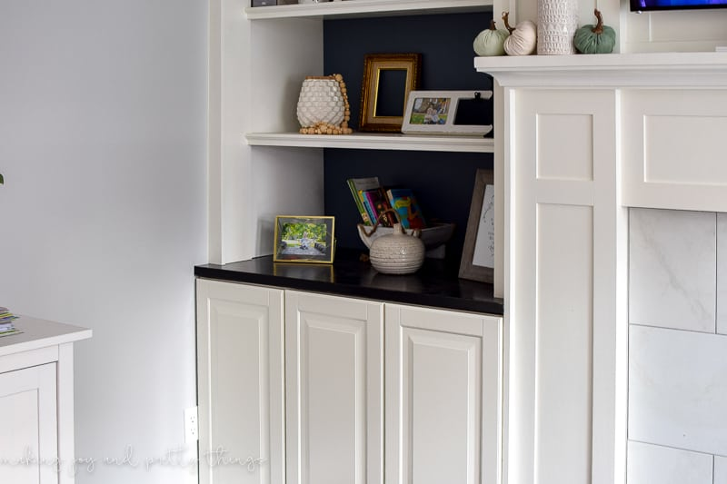 IKEA Hack: Kitchen Cabinets Turned Built Ins -