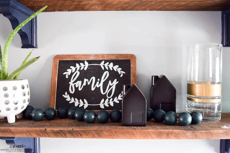 #diyhomedecor #diyproject #diywoodbeadgarland | diy oversized wood bead garland | farmhouse decor | farmhouse projects | simple diy crafts | easy diy crafts | Christmas crafts | Christmas decor | wood beads | wood bead projects | wood bead garland diy