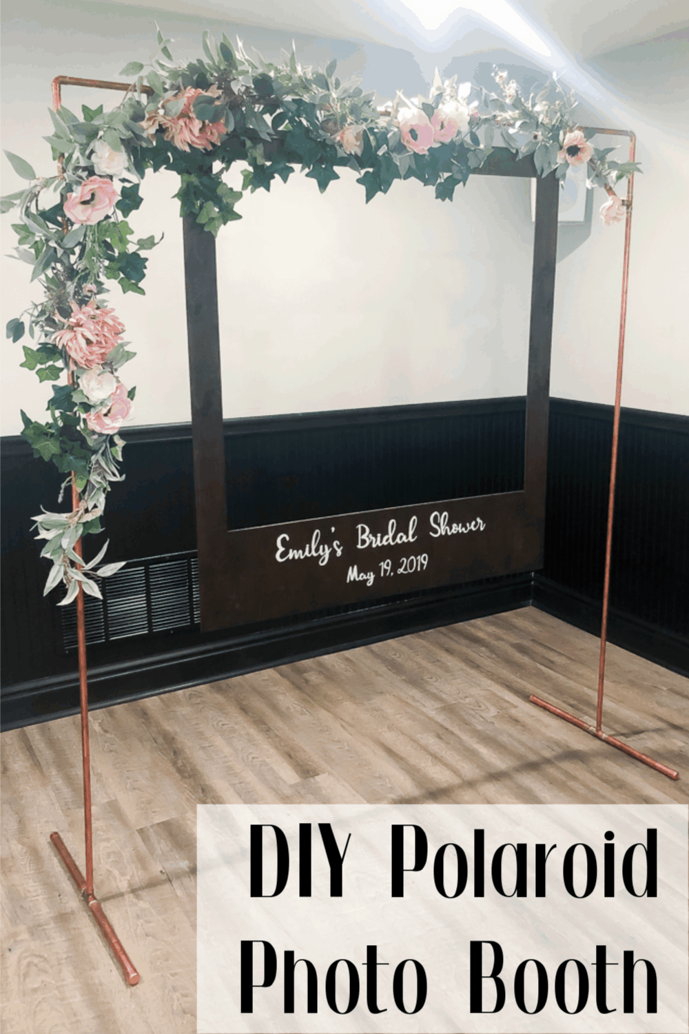 DIY Oversized Polaroid Photo Booth -
