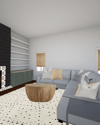 Sharing our living room design plan!