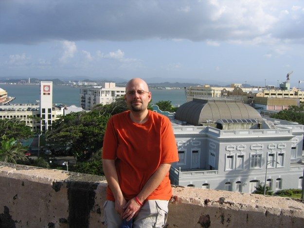 One year after our disastrous D.C. vacation, we went to Puerto Rico. By then I'd finally made peace with our situation, and was able to fully enjoy our vacation.