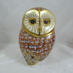 Royal Crown Derby Owl Paperweight