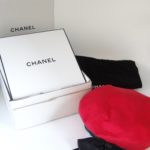 Chanel red beret hat with gift box and dust cover,red Chanel hat,red Chanel beret,Chanel gift box,Chanel hat,Chanel dust cover
