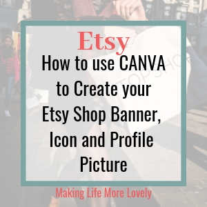 Using Canva to Create an Etsy Shop Banner Icon and Profile Picture