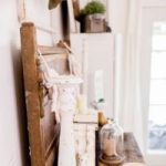 What can you sell on Etsy graphic showing vintage farmhouse style items on table