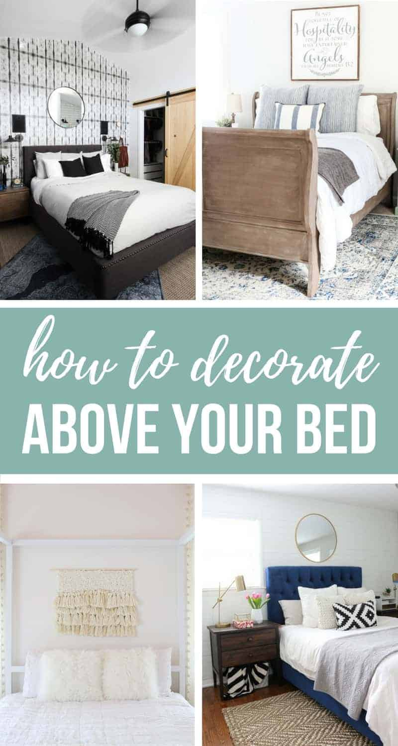 16 Designer Worthy Ideas For Over The Bed Decor Making