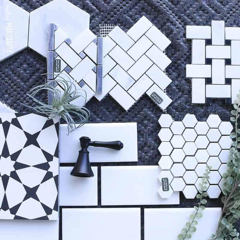 9 Modern Farmhouse Tile Ideas - Making Manzanita on Farmhouse Tile Bathroom Floor  id=76415