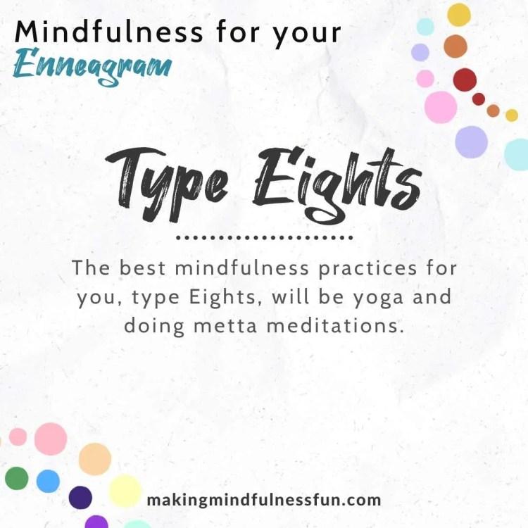 Enneagram Type Eight Mindfulness