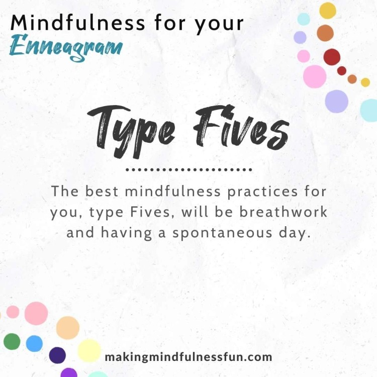 Enneagram Type Five Mindfulness