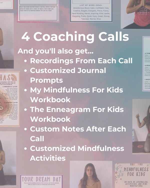 Kids Teens Mindfulness Coaching