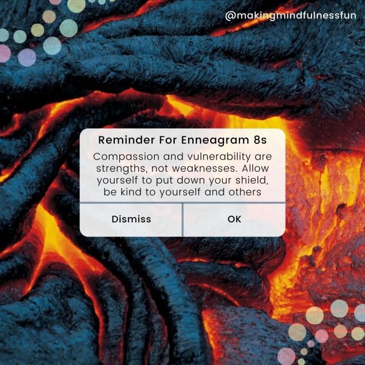 Reminder For Enneagram 8s