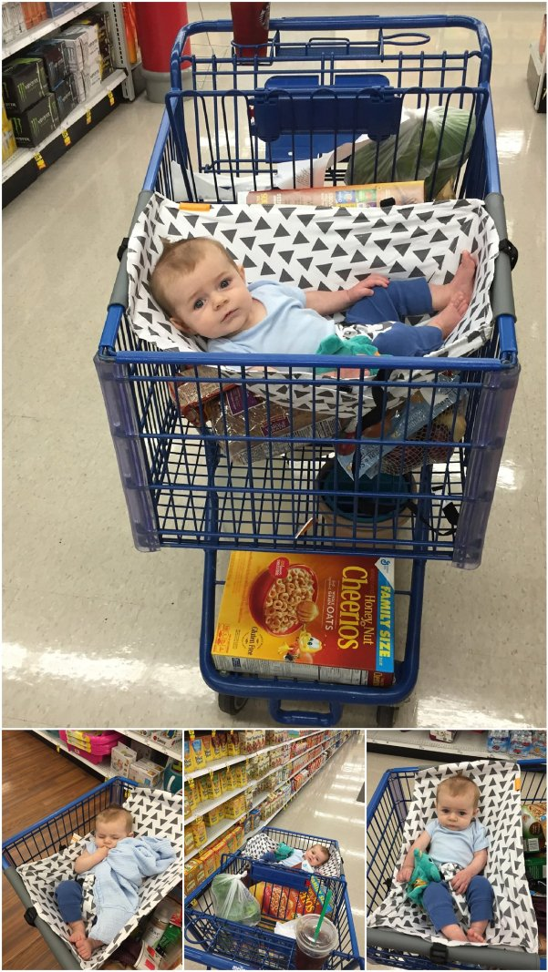 baby cart hammock for grocery shopping