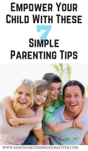Parenting tips for parents of young children