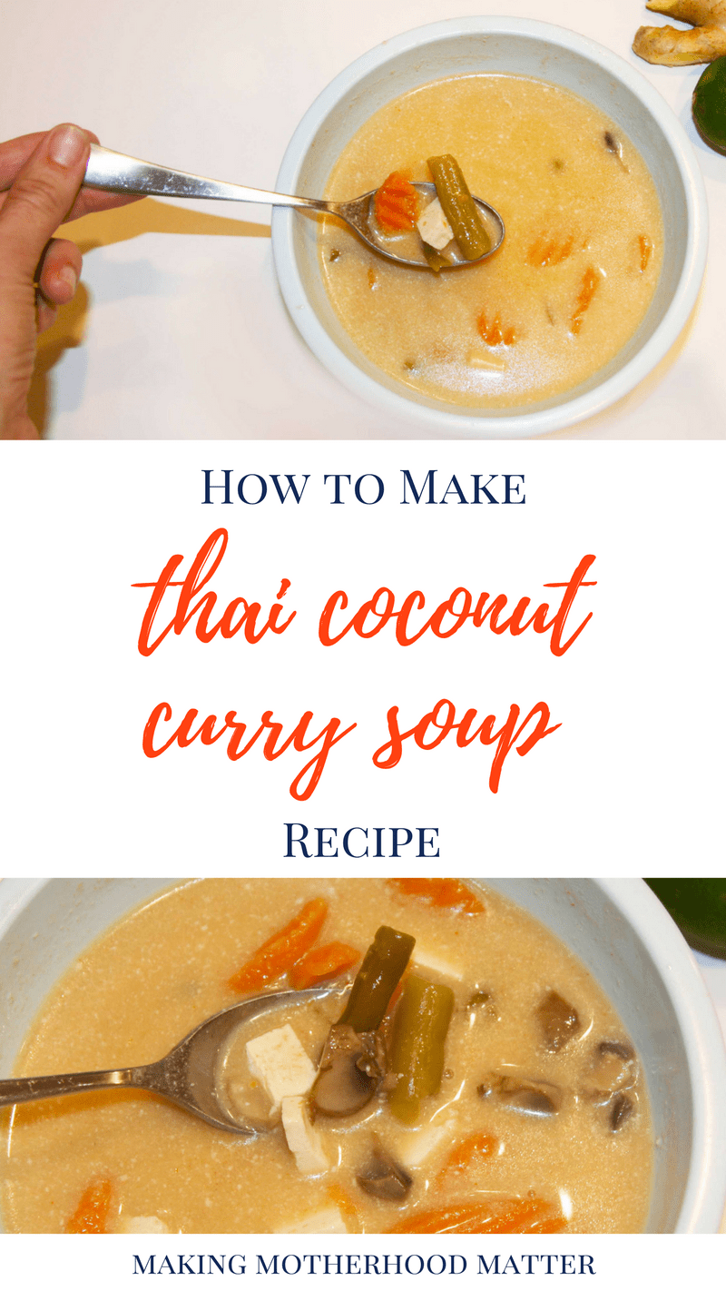how to prepare coconut soup