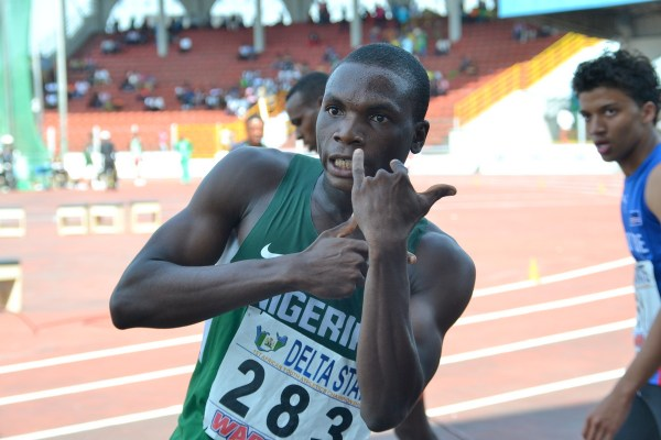 Divine Oduduru aims at capturing the sprint double in Ethiopia. (Photo Credit: Shengol Pix)