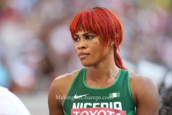 Blessing Okagbare finishes 4th in Long Jump at Drake Relays!