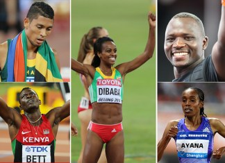 Top 10 African athletes