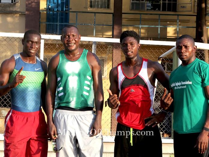 The quartet of Isah Paulinus, Deji Aliu, Ikoko Onengi and Peter Edwin won the 4x100m relay for ATC.