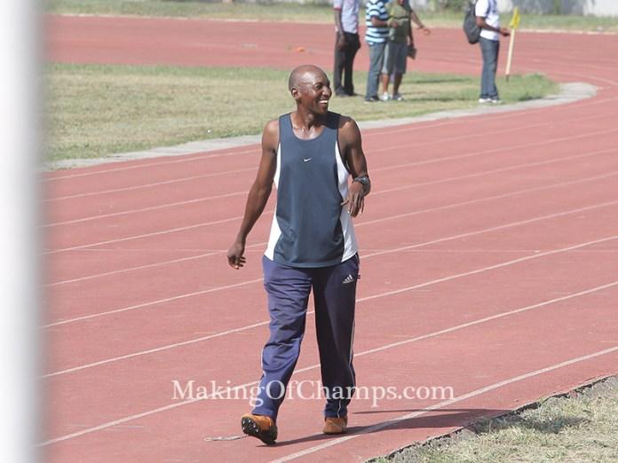 Ezealah's coach, Adu Uruemu, and team mates were on ground to honour her.