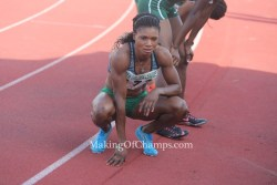 Patience Okon George races to Season's Best at Grenada Invitational