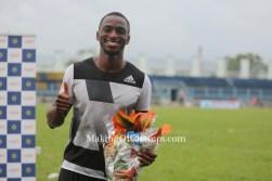 Seye Ogunlewe retains 100m title & qualifies for Rio Olympics at Nigerian Trials