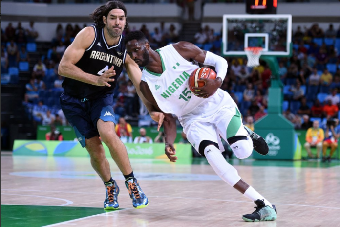 With Shane Lawal out of the Olympics, so much will rest on the defensive abilities of Nicholas Ibekwe. Photo Credit: Getty Images